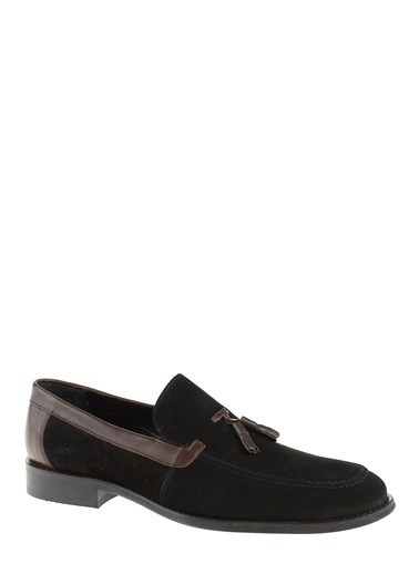 Daffari Deri Loafer Ayakkabı Siyah